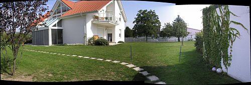 Ansicht Garten vorher