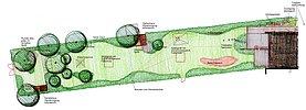 Entwurf zu einem großen Garten am Ortsrand