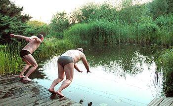 Schwimmteich Typ 2 Foto